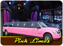 Pink Limousines For Hen Nights, Proms